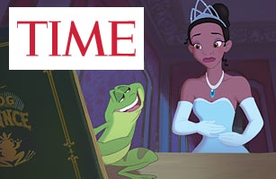 Time magazine : Top Princess & The Frog