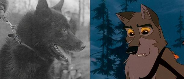 The true points in the Balto movie