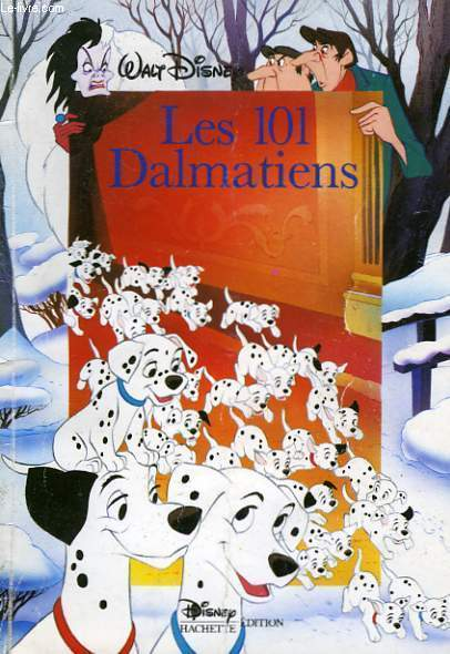 livres 101 dalmatiens. Black Bedroom Furniture Sets. Home Design Ideas