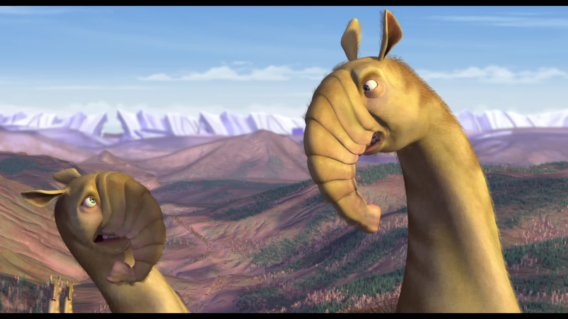 Ice Age Movie Animals