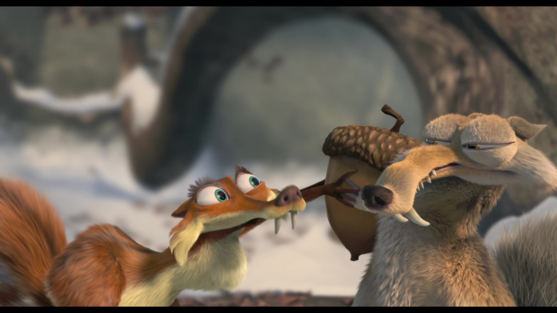 how to get free acorns on ice age village