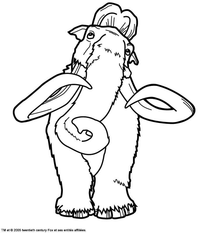 Coloring Pages C Ice Age