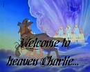 Welcome To Heaven Charlie...