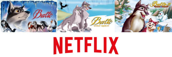 The Balto trilogy on Netflix