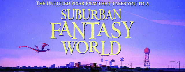 The Untitled Pixar Film That Takes You To A Suburban Fantasy World