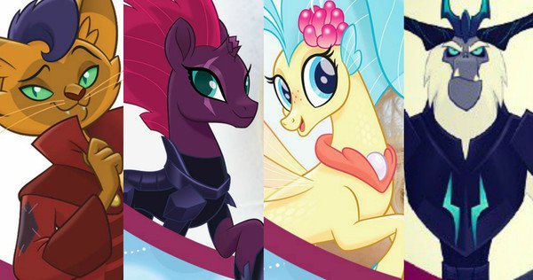 New characters in My Little Pony: The Movie
