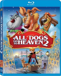 All Dogs Go To Heaven 2 bluray cover