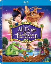 All Dogs Go To Heaven bluray cover