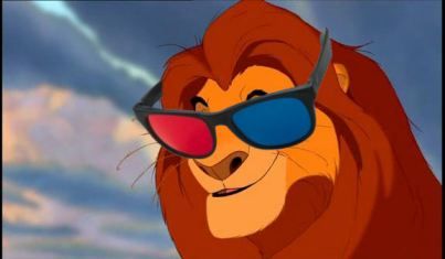 The Lion King in stereoscopic 3D