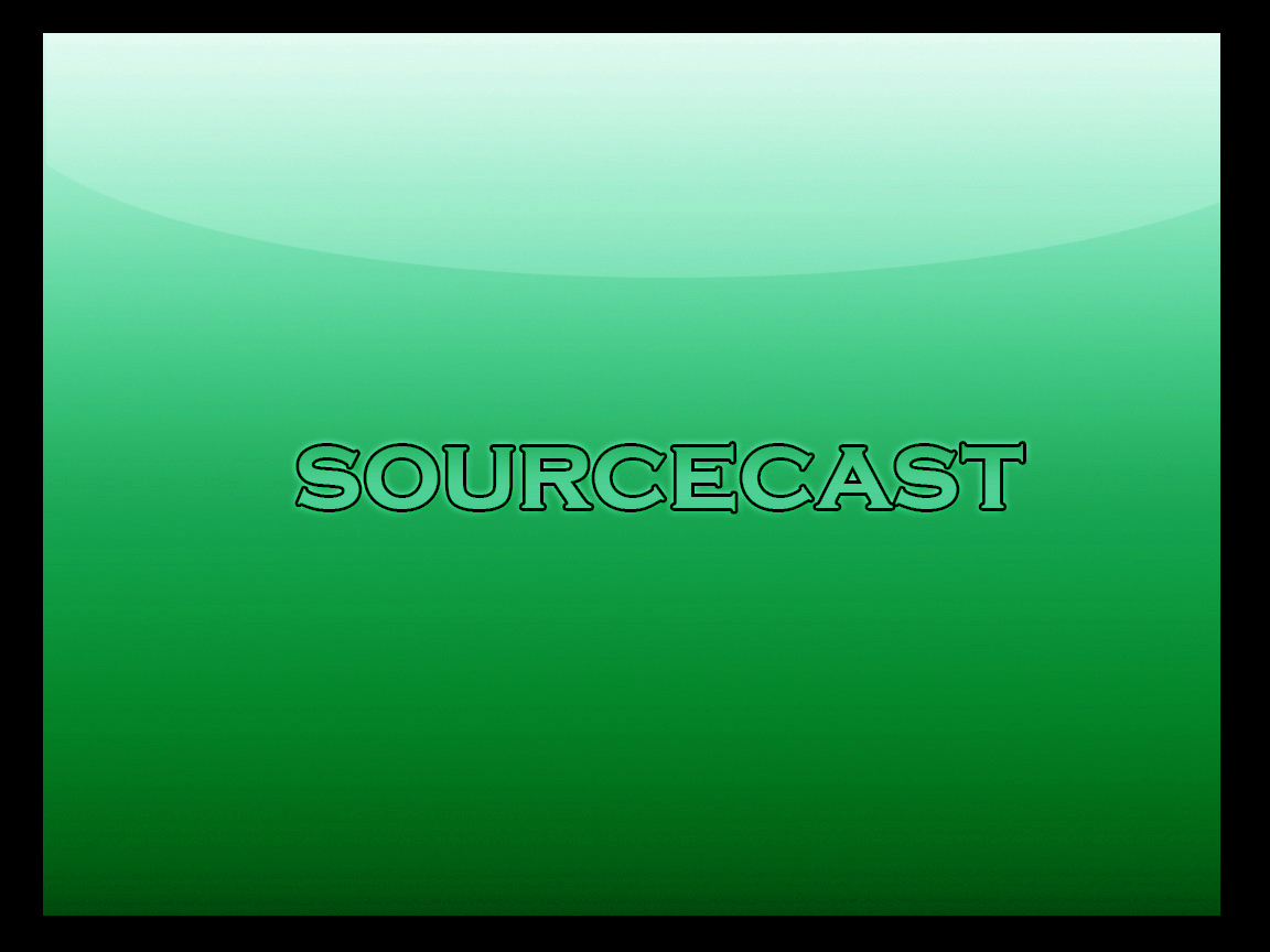 The SourceCast banner
