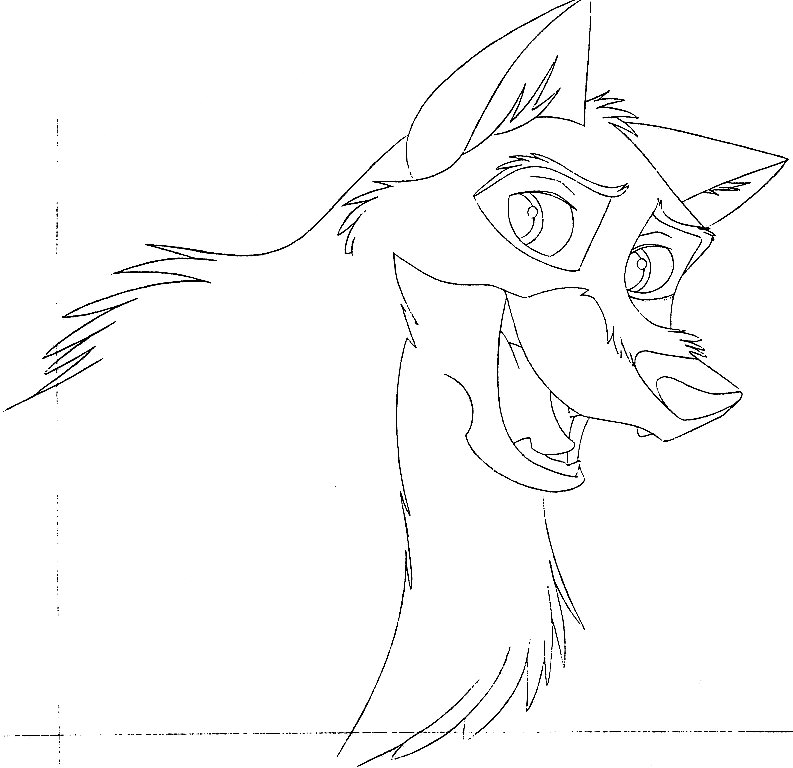 Balto And Jenna Coloring Pages. Balto Cartoon Coloring Pages ...