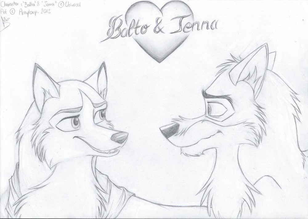Balto Movie Coloring Pages - #traffic-club