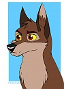 Balto in Paintbrush