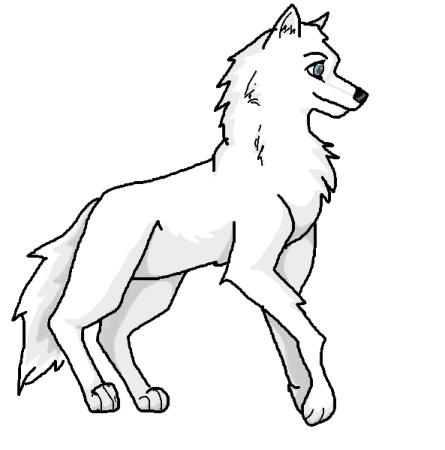 balto howling coloring pages - photo #6