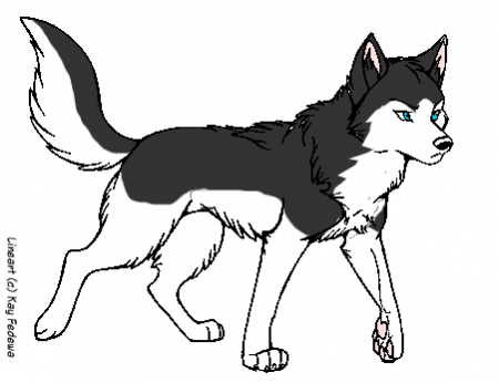 Balto 2 Coloring Pages Sled Dog Colouring