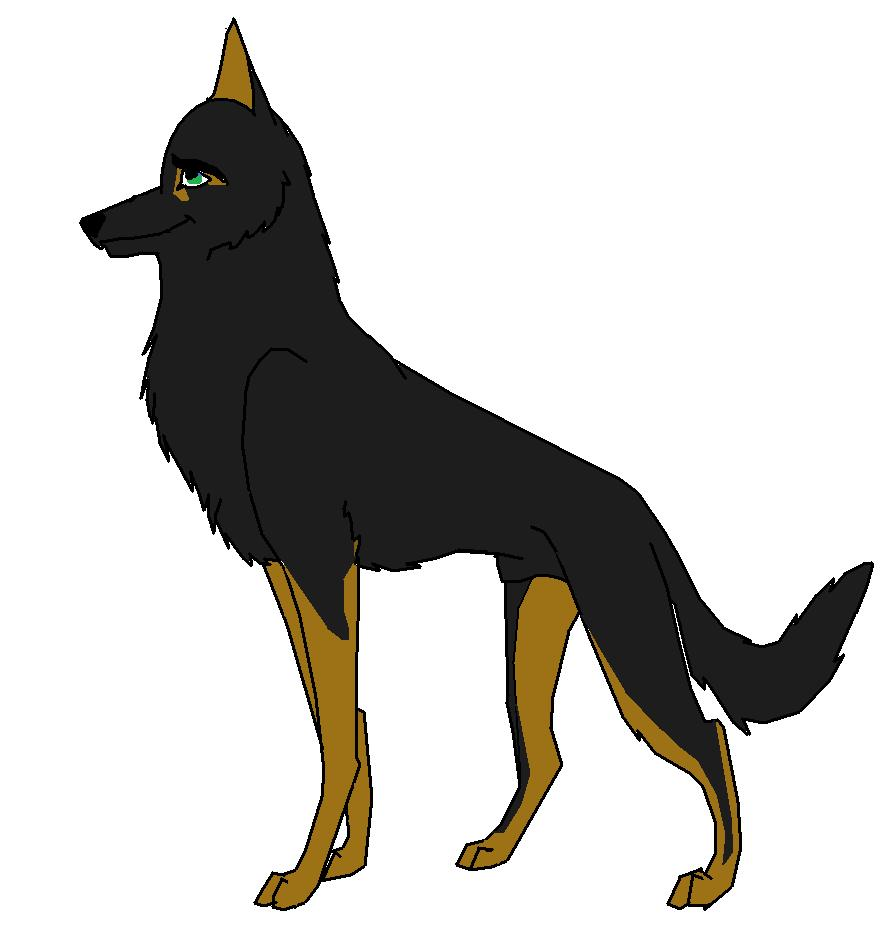 German shepherd coloring pages pictures