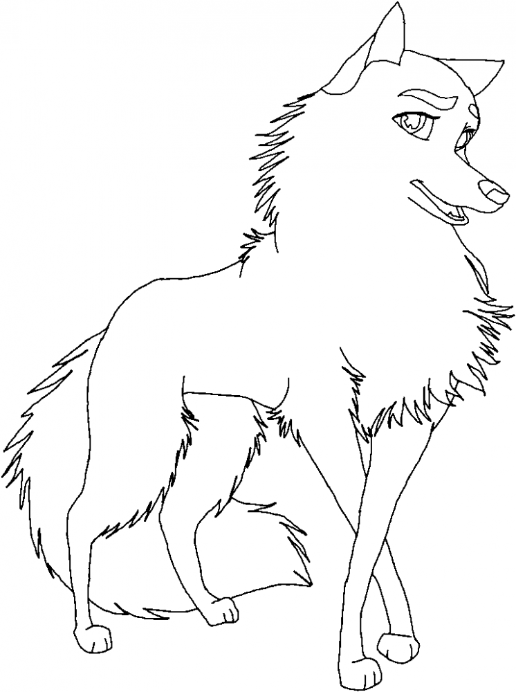 Wolf Couples Coloring Pages Coloring Pages