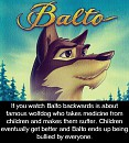 Balto backwards