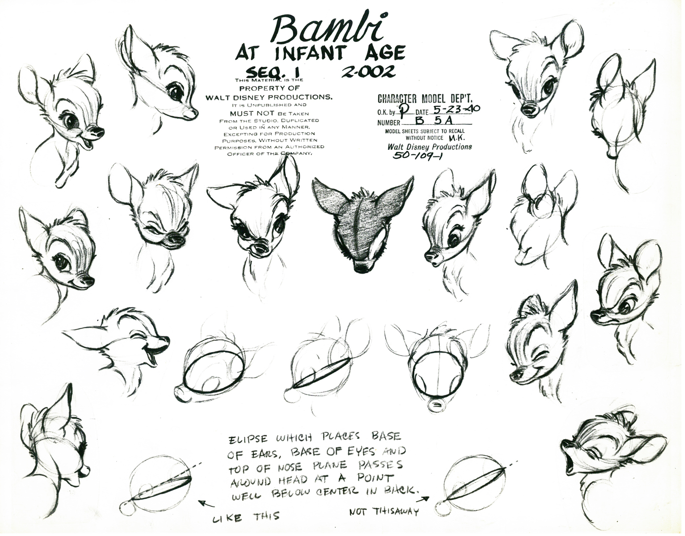 Drawing disney characters bambi something