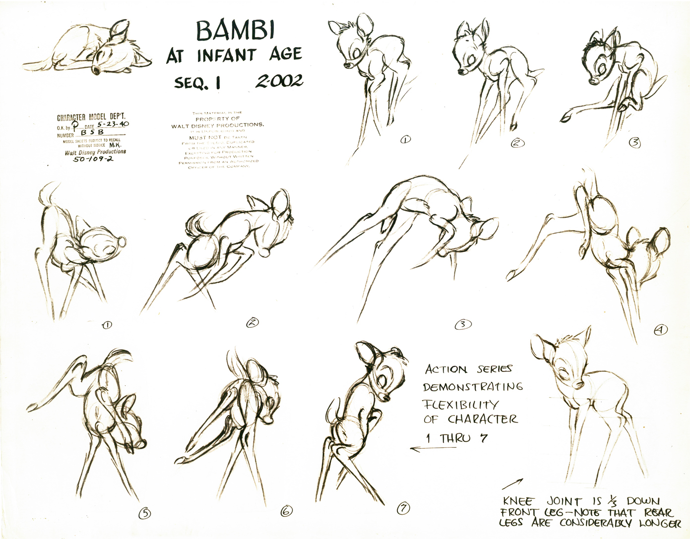 Character designs bambi for Design reference sites