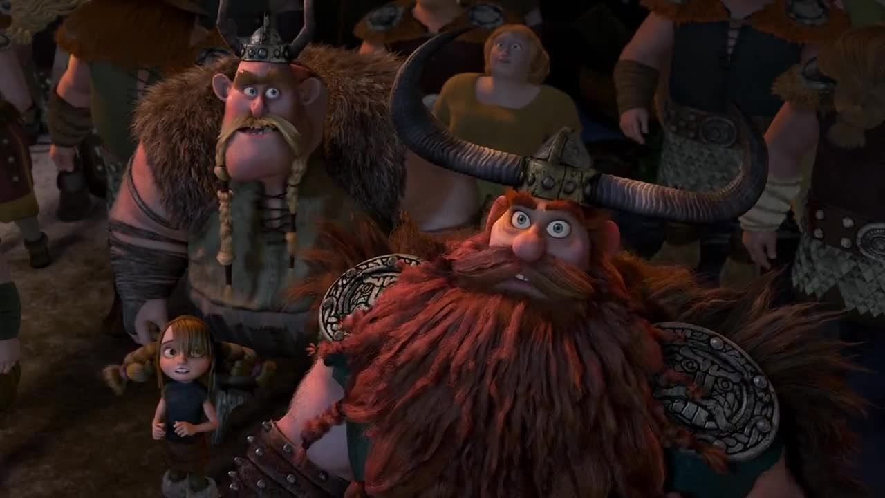 who are the characters in how to train your dragon