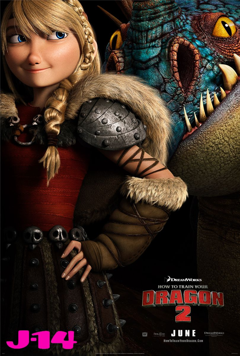 Exclusive HTTYD Poster- Astrid and Stormfly © How To Train ...