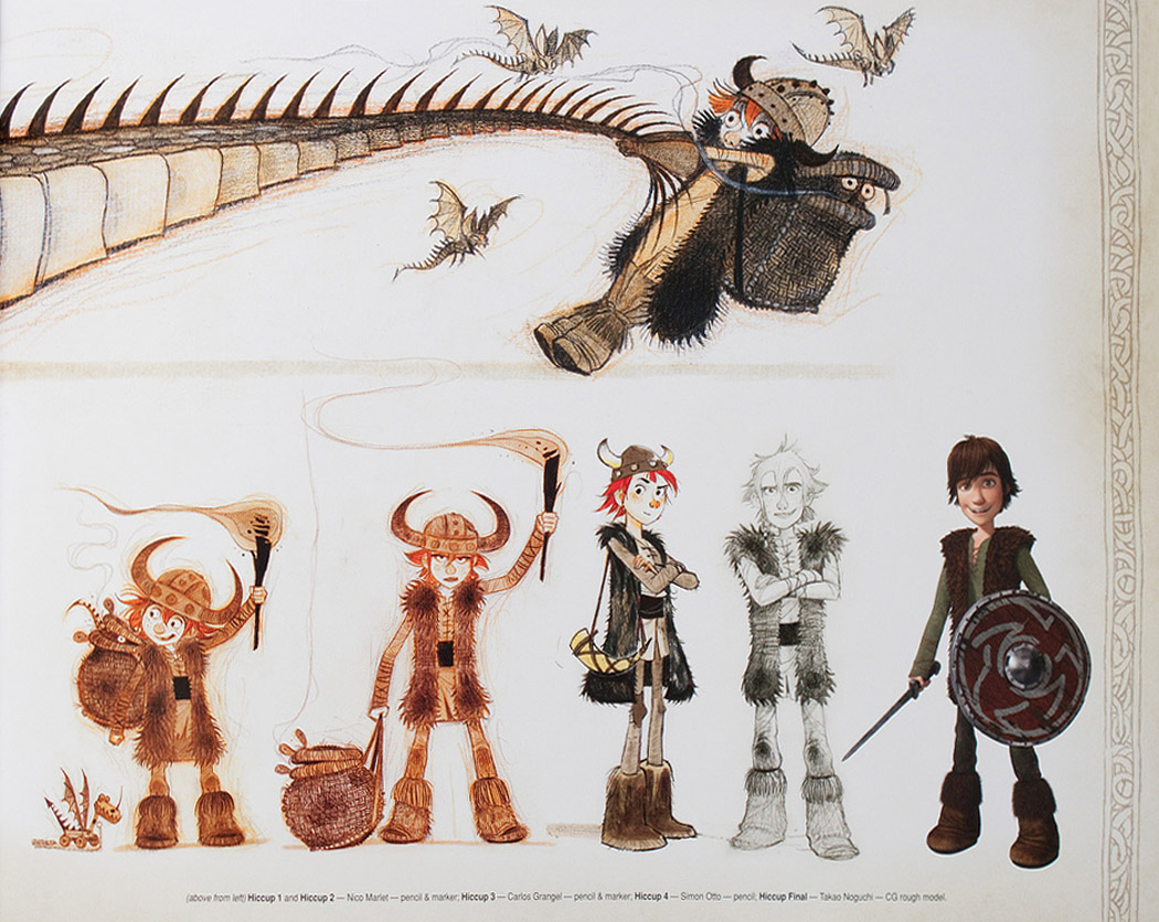 Character Design How To Train Your Dragon 2 : Concept art personnages dragons