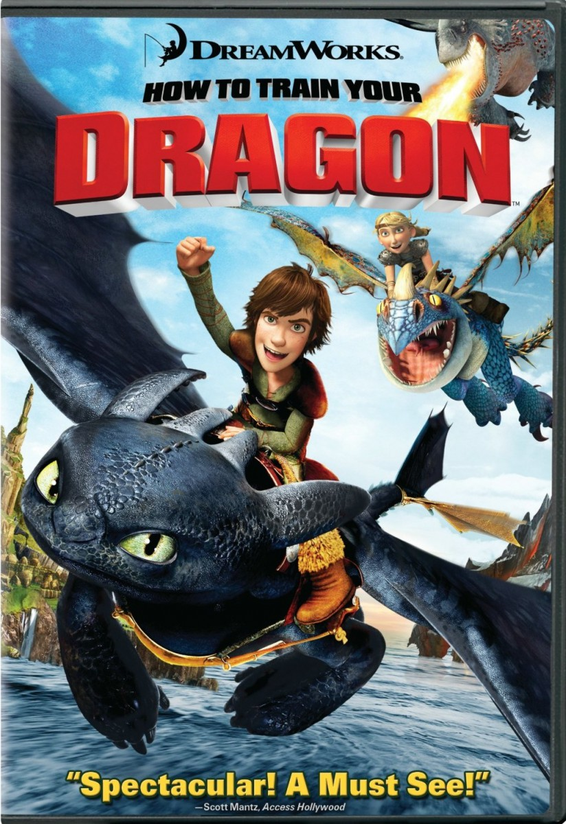 Dvd Blu Ray 169 How To Train Your Dragon
