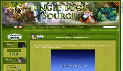 Jungle Book Source opens