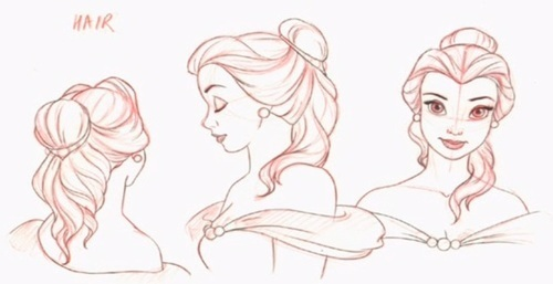 Beauty And The Beast Character References Sheets C