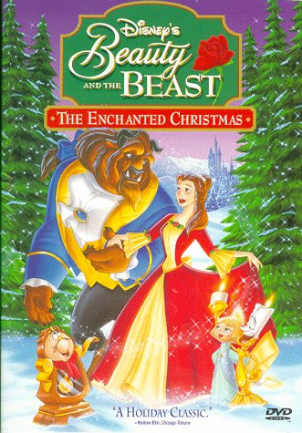 Beauty and the Beast: The Enchanted Christmas DVD
