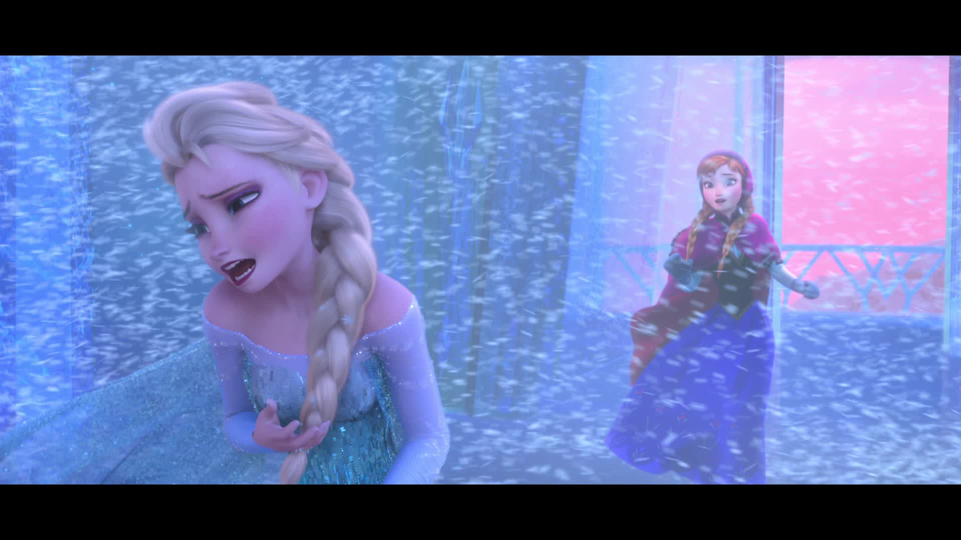 Screenshots frozen - Raiponce reine des neiges ...