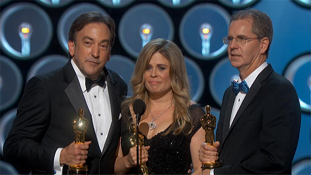Frozen winning Best Animated Film at the Oscars