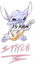 Stitch et sa guitare (colo)