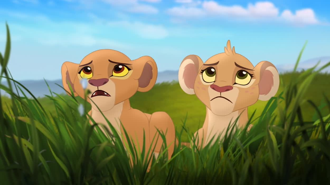 Personnages de the lion guard le roi lion - Kion le roi lion ...
