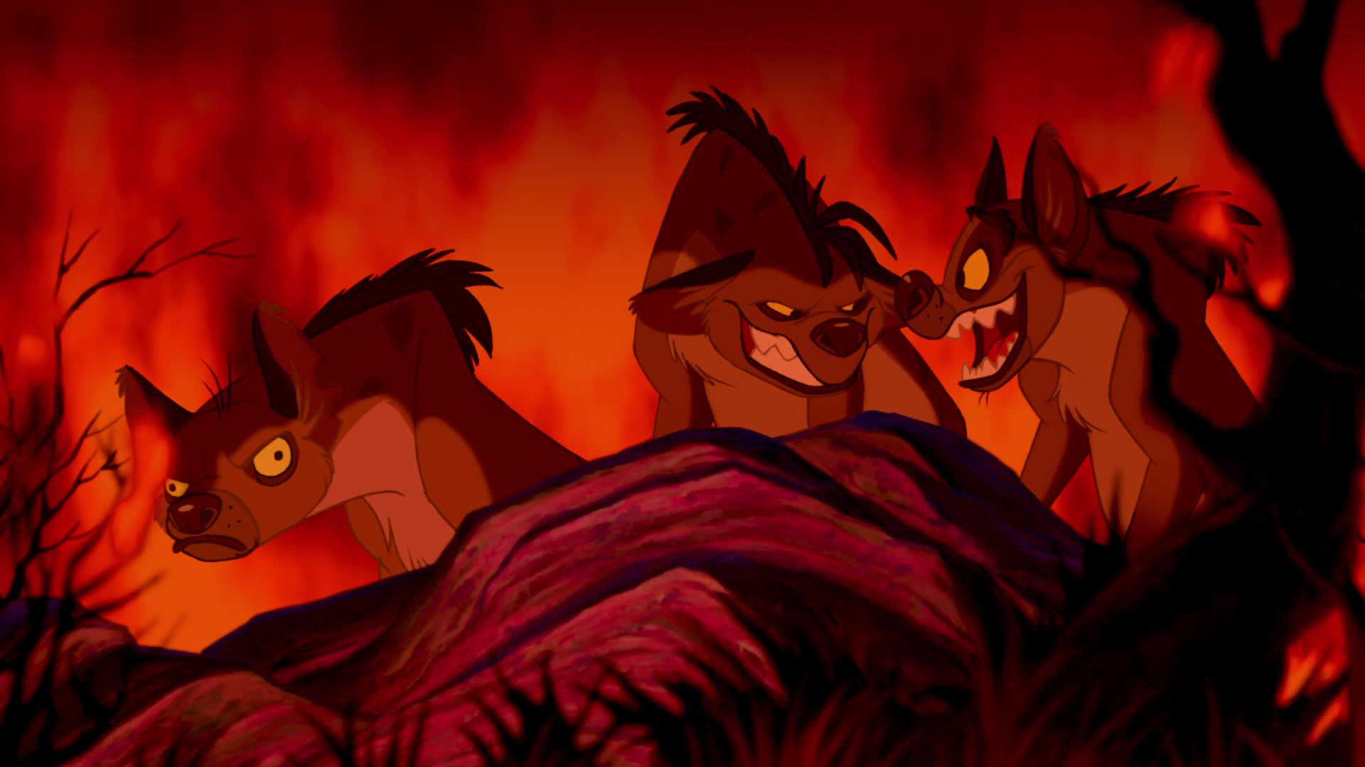 When did Scar and Zira meet? © The Lion King
