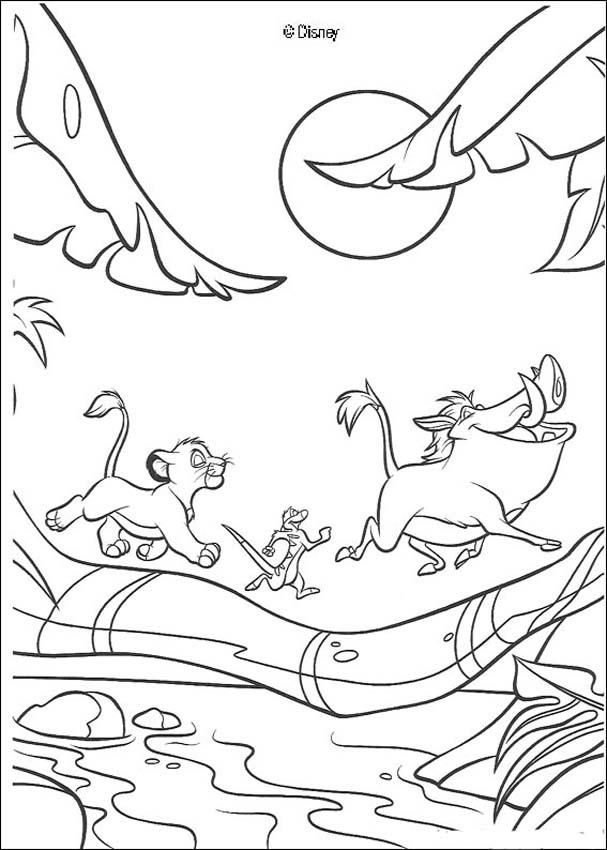 Image Lion King Print View Computer Coloring File