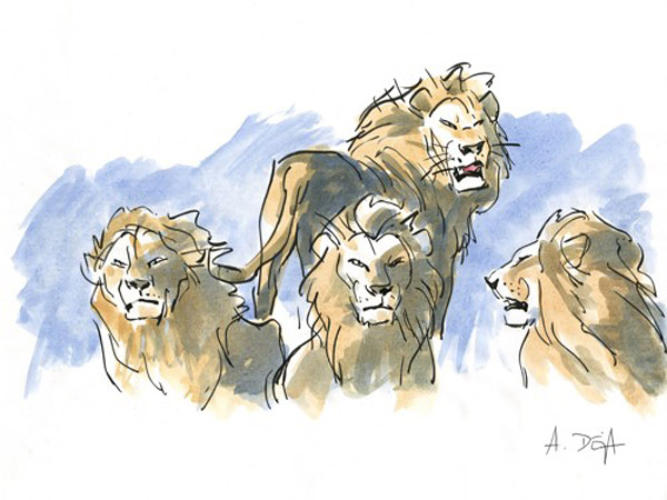 Character Concept Art C The Lion King