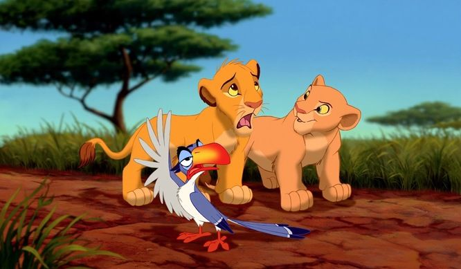 Lion King characters