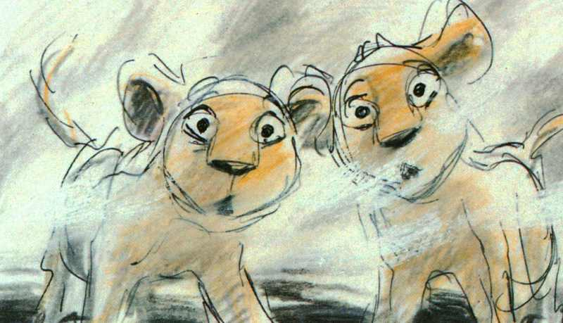 Storyboards 169 The Lion King