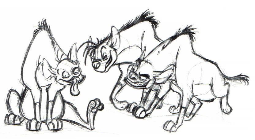 Storyboards Lion King