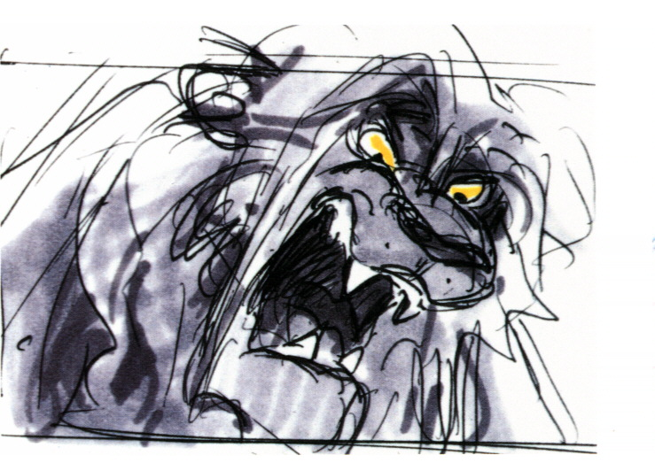 Storyboards 169 Lion King