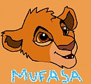 Mufasa as a cub