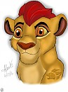 Finished Kion Drawing