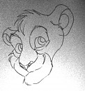 Simba Traditional Drawing