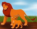 Simba and Tanabi