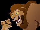 Zira and her Father