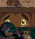 Shadows of guilt, comic page 1