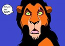 Scar is offended