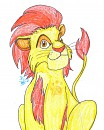 Teen Kion Drawing